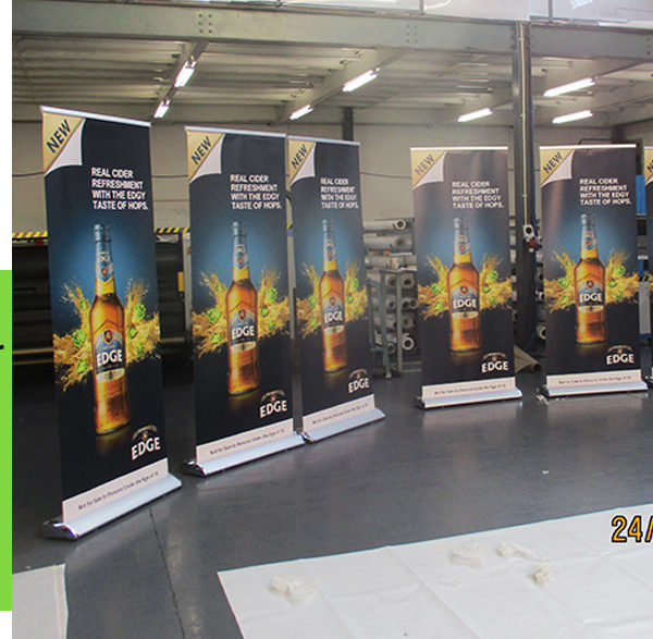 Deluxe Pull up or Roll up Banner printing - by Print Impact - 1