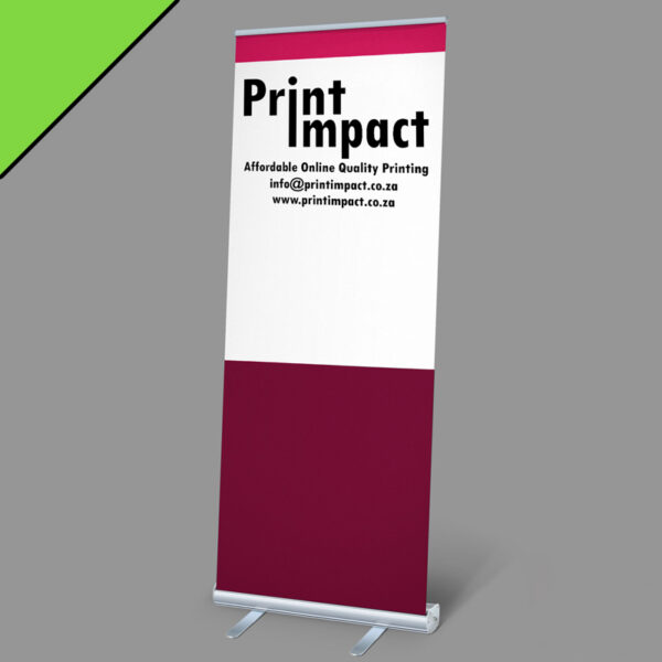 Our Roller Banner Budget is an Eye-catching and cost-effective form of signage for indoors or outdoors