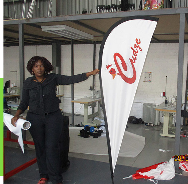 Outdoor flags come in 3 main sizes, 2m, 3m and 4m
