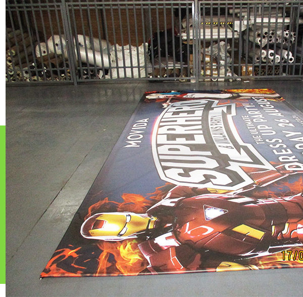 Medium size promotional banners in high quality