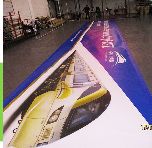 We have printed PVC banners for many prominent South African companies