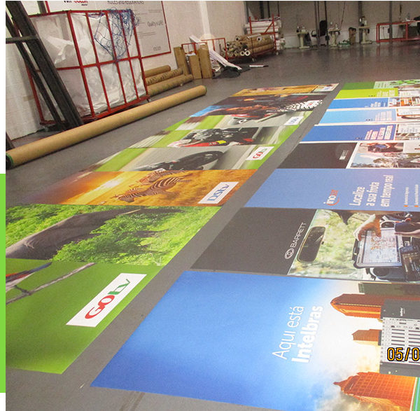 Smaller vinyl banners can be easily printed