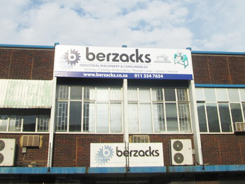 Building Signage and installation