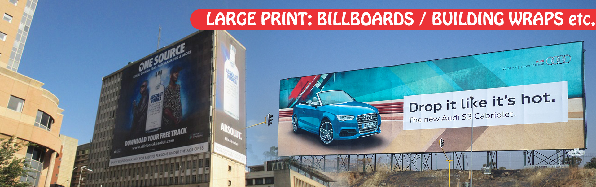Print Impact | We print Billboards, Building Wraps and other Large Format Printing