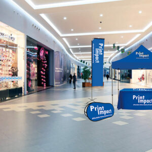 Indoor Advertising Displays and Events