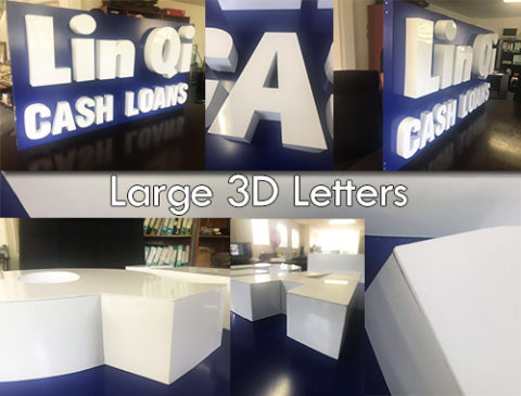 Latest Signage Job - 3D Letter Sign