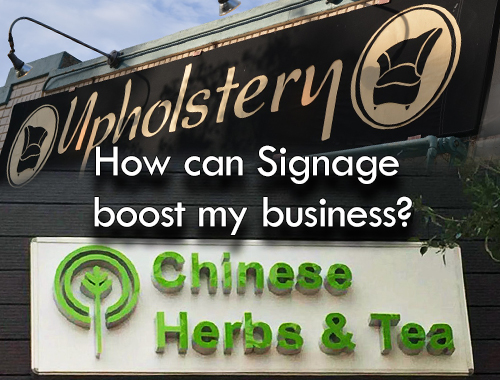 How can Signage boost my business?