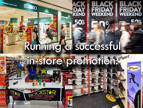 Print Impact asks - How to Run a Successful In-store Promotion